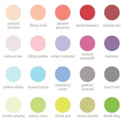 Vzorkovník farieb Dulux Barvy světa - Colours of the World - Vzorkovník farieb Dulux Barvy světa - Colours of the World