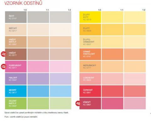 Vzorník barev Het Klasik Color - Vzorník barev Het Klasik Color