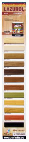 Vzorník barev Lazurol Classic - Vzorník barev Lazurol Classic