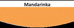 Vzorník barev Kittfort Colorline Premium - Mandarinka