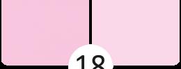 18 Růžová
